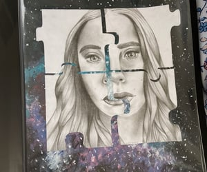 artist, creative, and mixed media image