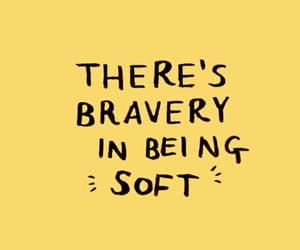 quotes, brave, and yellow image
