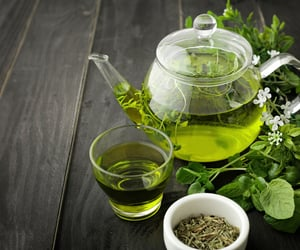 green tea and health image