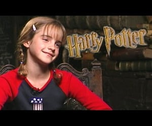 interview, daniel radcliffe, and emma watson image