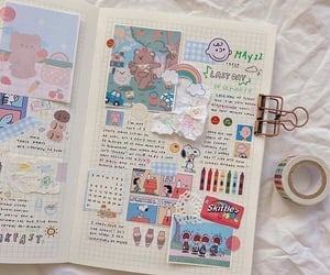 journaling, aesthetic, and art image