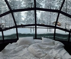 winter, bedroom, and cozy image