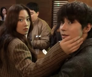 couple, friendship, and korean image