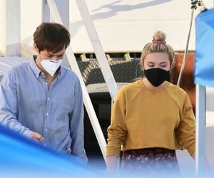 florence pugh and Harry Styles image