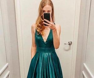 evening dress, prom dresses, and graduation dress image