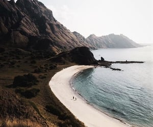 beach, nature, and beautiful image