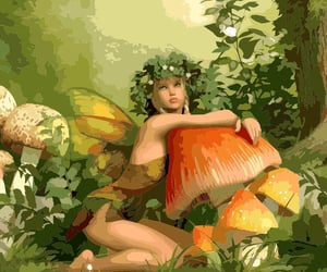 fairy, forest, and colorplanet image