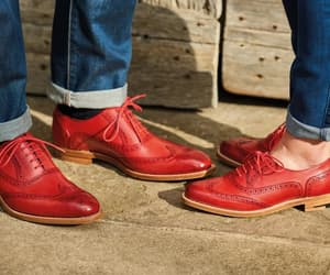 leather brogue shoes, oxford brogue shoes, and brogues image