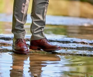 brogues, brogue shoes, and brown derby shoes image