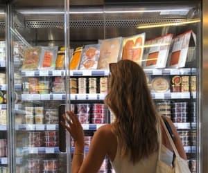 girl, fashion, and food image