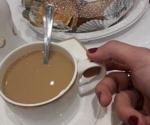 cake, coffee, and dz image
