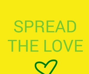 amour, verde, and spread the love image
