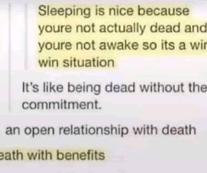 nap time, sleeping, and open relationship image