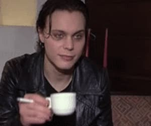 him, goth rock, and gif image