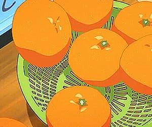 anime, food, and fruit image
