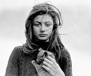 anouk aimee, Fellini, and Lola image