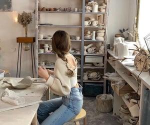activity, art, and beige image