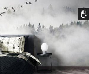 salon, sypialnia, and mgła image