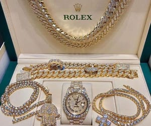 luxury, jewelry, and rolex image