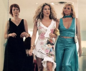 Carrie Bradshaw, samantha jones, and sarah jessica parker image