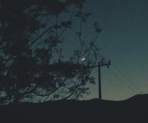 aesthetic, moon, and broken image