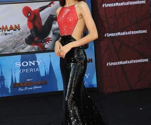 spider man, zendaya, and spider man far from home image