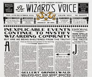 harry potter, wizarding world, and fantastic beasts image
