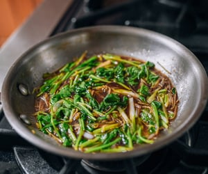 chinese food, cilantro, and asian food image