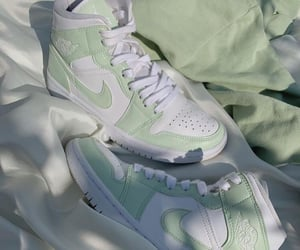 green, aesthetic, and nike image