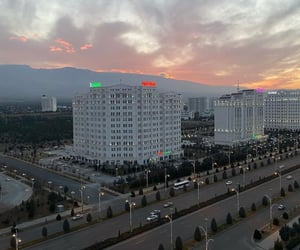 clouds, mountain, and turkmenistan image