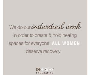 create, healing, and women image