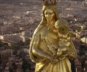 jesus christ, marie, and marseille image