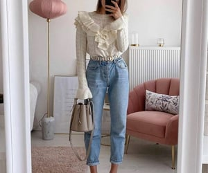 bag, clothing, and fall fashion image
