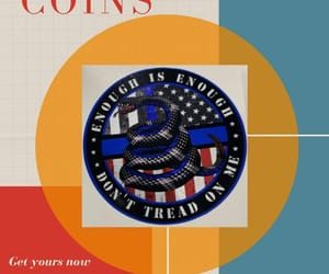coins, gifts, and police image
