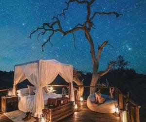 bad, romantic, and night sky image