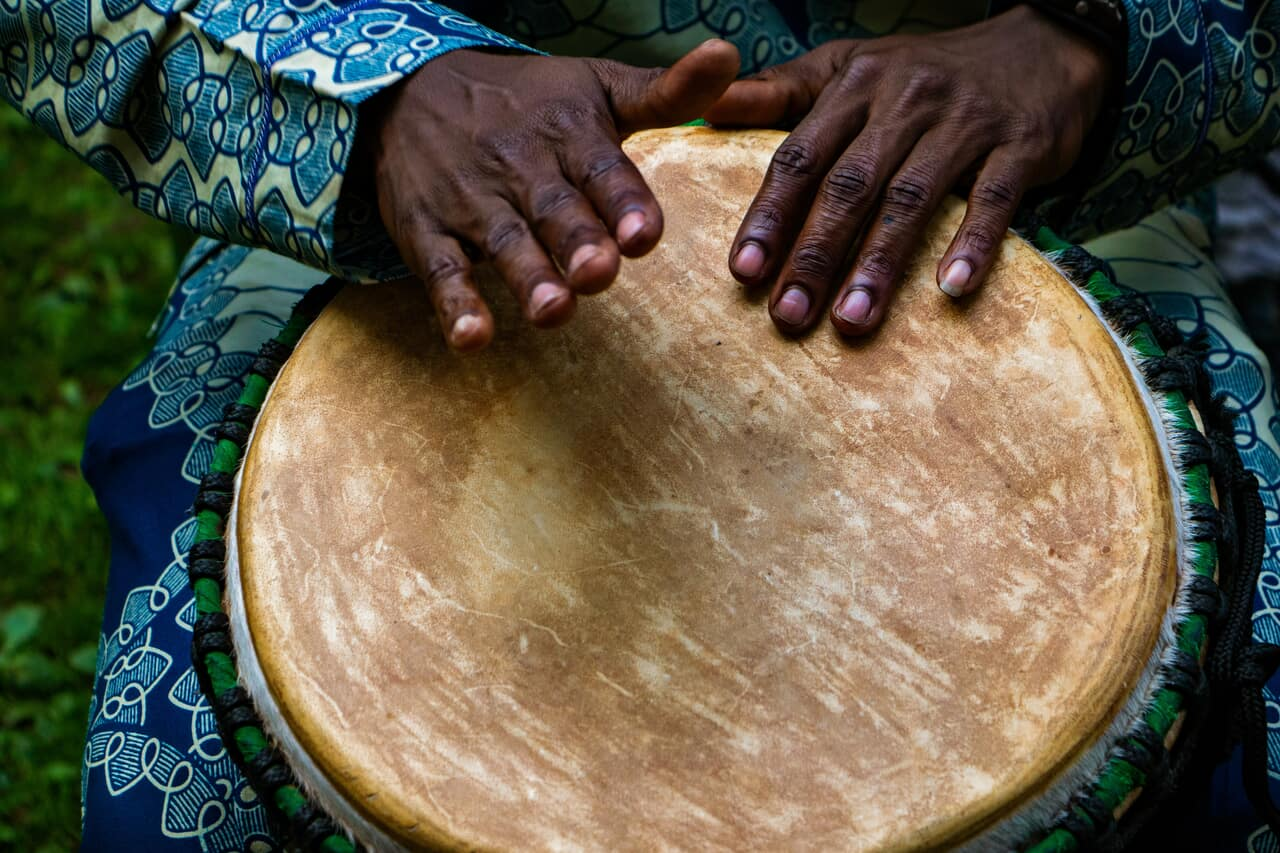 drums and article image