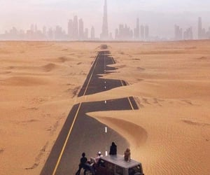 Dubai, jeep, and sand image