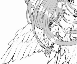 aesthetic, angel, and illustration image