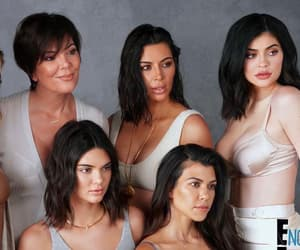 kim kardashian, khloe kardashian, and kourtney kardashian image