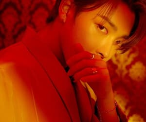 red, yunho, and ateez image