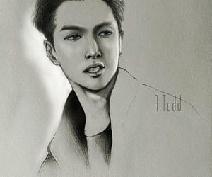 fanart, kpop, and zhangyixing image