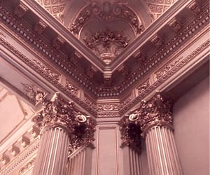 gold, architecture, and aesthetic image