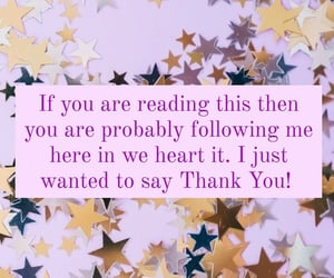 card, followers, and thank you image