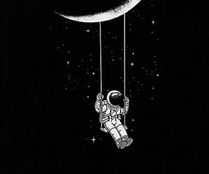 moonlight, night, and star image