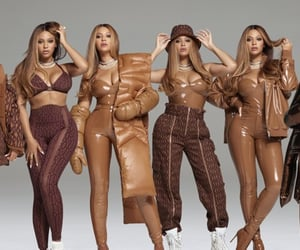 brown, clothes, and fashion image