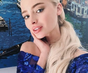 blonde, blue eyes, and russia image