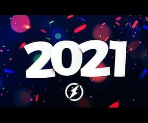 happy new year, edm, and new year music mix 2021 image