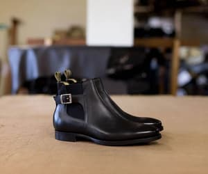 tan suede chelsea boots, men's brogue boots, and chelsea boot men image