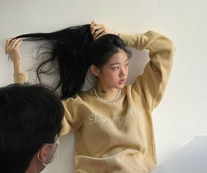 aesthetic, asian girl, and details image