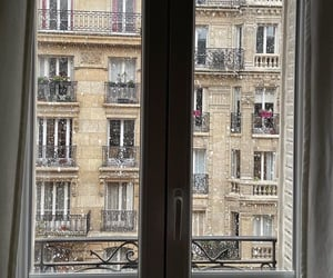 interior, paris, and snow image